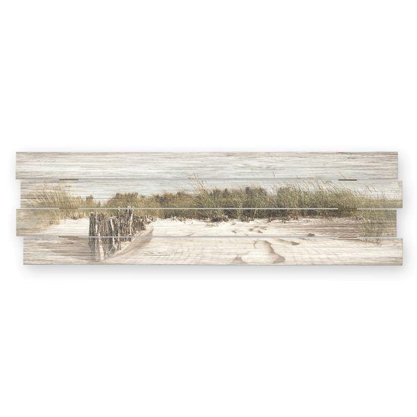 Strand | Shabby chic Holzbild | ca.100x30cm