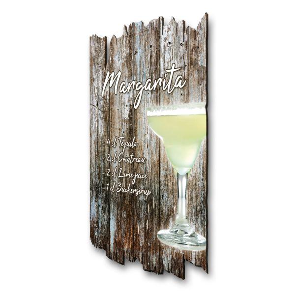 """Cocktail-Holzschild """"Margarita"""""""