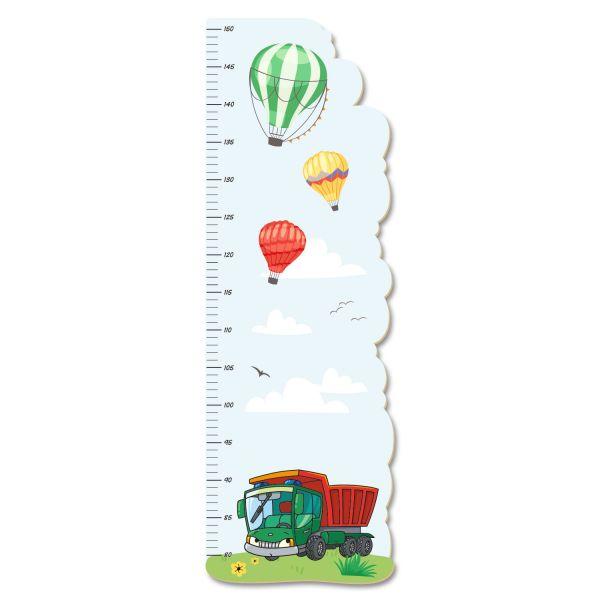 Kipper Messlatte fürs Kinderzimmer aus MDF