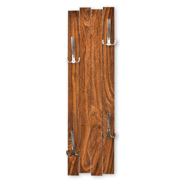 Holz Rot-Braun   Shabby chic Holz-Garderobe   ca.100x30cm aus MDF