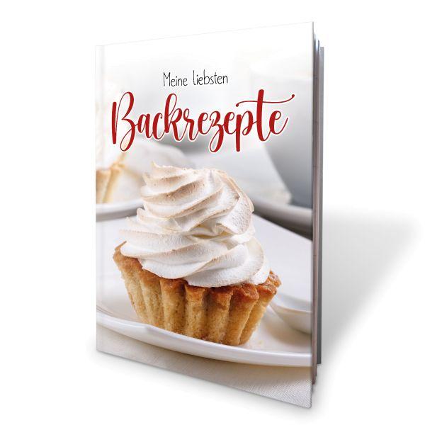 Meine liebsten Backrezepte | Foto | Buch für eigene Backrezepte | ideal für Geburtstage | DIN A4