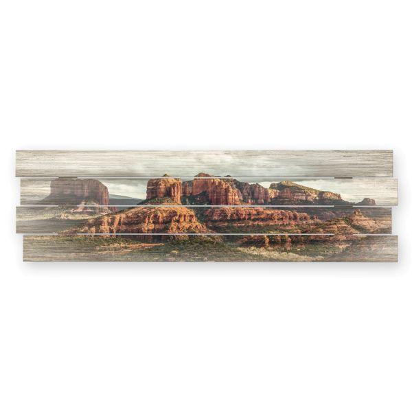 Canyon | Shabby chic Holzbild | ca.100x30cm