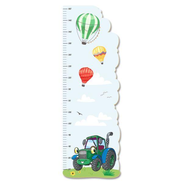 Traktor Messlatte fürs Kinderzimmer aus MDF