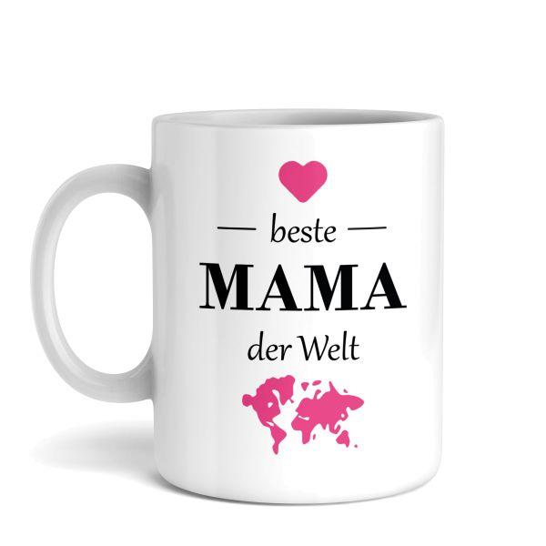 Tasse mit Motiv | Beste Mama | Keramiktasse | fasst ca. 300ml | ideales Geschenk