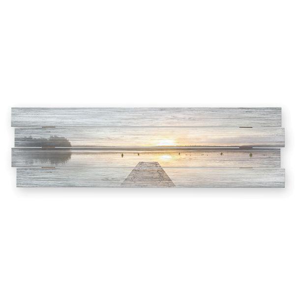 See | Shabby chic Holzbild | ca.100x30cm