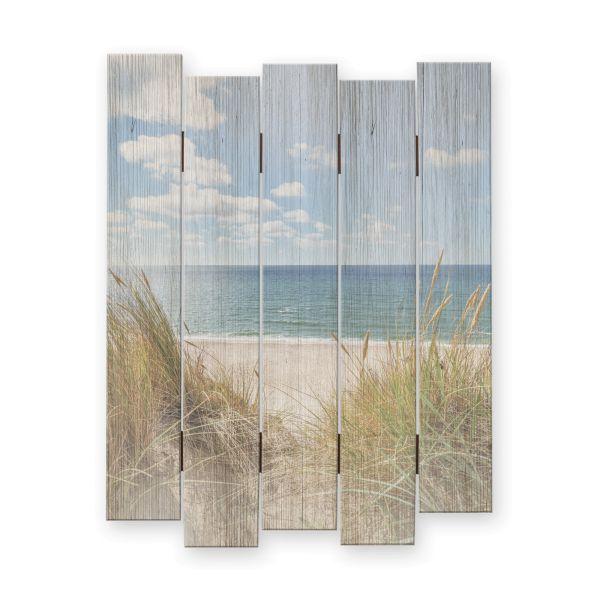 Strand | Shabby chic Holzbild | ca.60x44cm