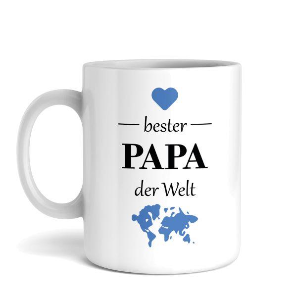 Tasse mit Motiv | Bester Papa | Keramiktasse | fasst ca. 300ml | ideales Geschenk