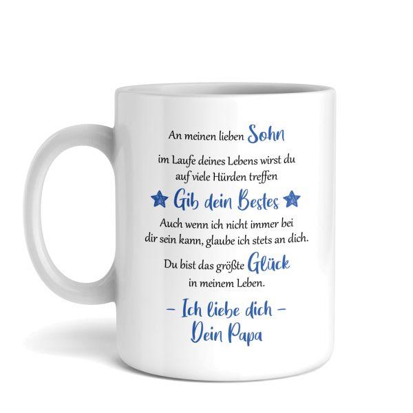 Tasse mit Motiv | Vater & Sohn | Keramiktasse | fasst ca. 300ml | ideales Geschenk