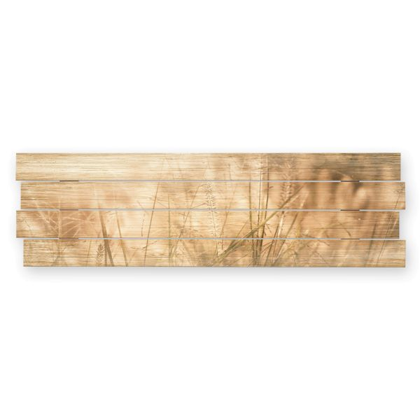 Wiese   Shabby chic Holzbild   ca.100x30cm