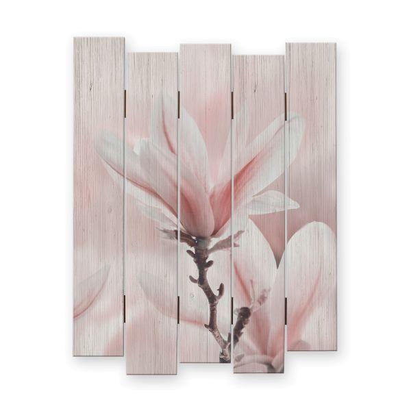 Blüte | Shabby chic Holzbild | ca.60x44cm