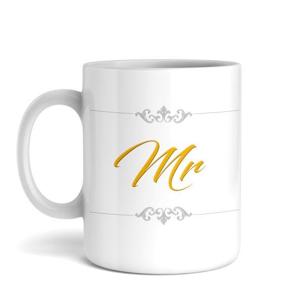 Tasse mit Motiv   Mr   Keramiktasse   fasst ca. 300ml   ideales Geschenk