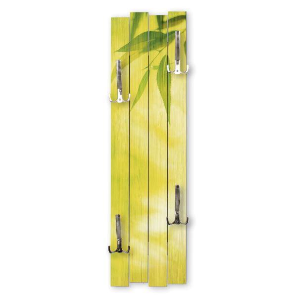 Bambus | Shabby chic Holz-Garderobe | ca.100x30cm aus MDF