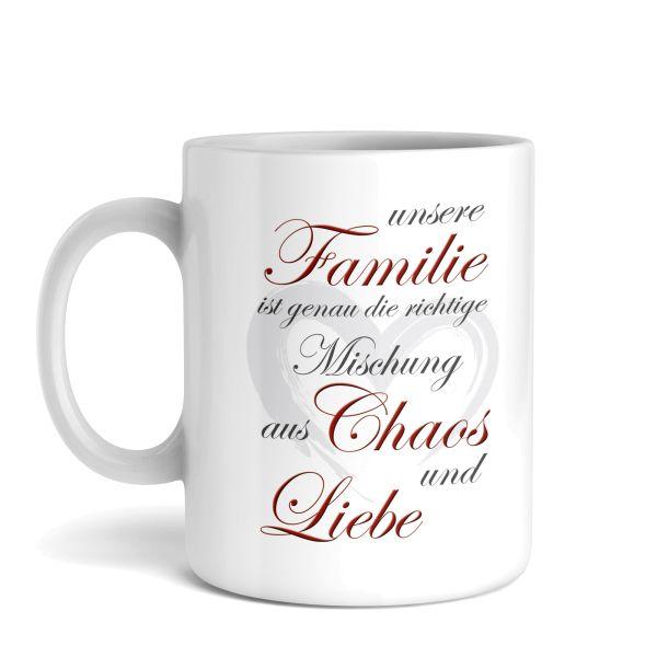 Tasse mit Motiv | Familie | Keramiktasse | fasst ca. 300ml | ideales Geschenk