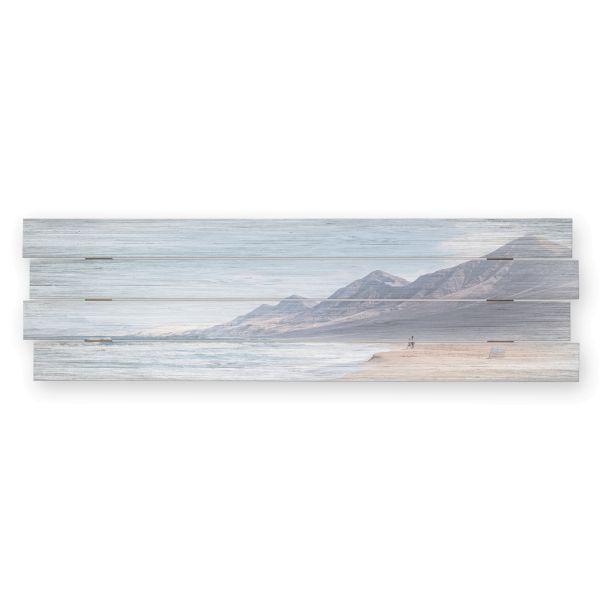 Strand   Shabby chic Holzbild   ca.100x30cm
