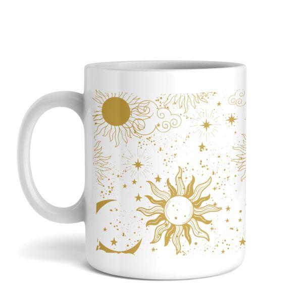 Tasse mit Motiv   Kosmos   Keramiktasse   fasst ca. 300ml   ideales Geschenk