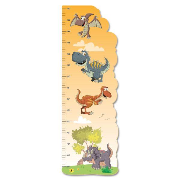 Dinos Messlatte fürs Kinderzimmer aus MDF