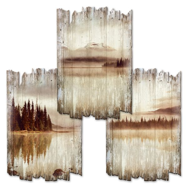 See | Deko-Holzschilder im 3er Set | wahlw. in 30x20cm oder 30x45cm