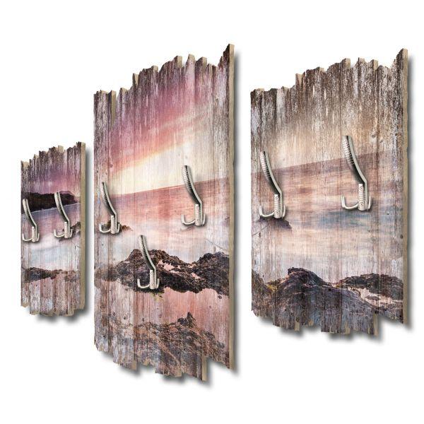 Küste Teneriffa Shabby chic 3-Teiler Garderobe aus MDF