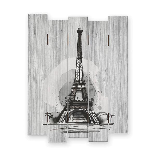 Paris | Shabby chic Holzbild | ca.60x44cm