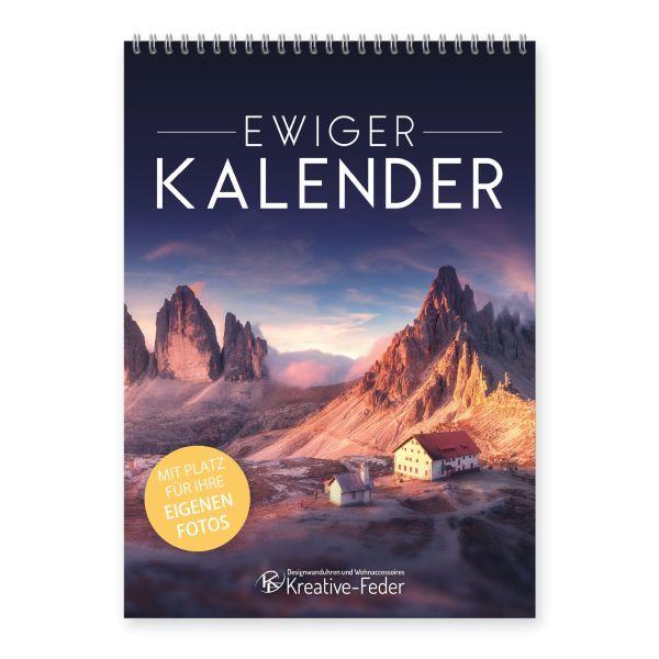 Ewiger Kalender | Landschaften | immerwährend & jahresunabhängig | ideal für Geburtstage | DIN A4