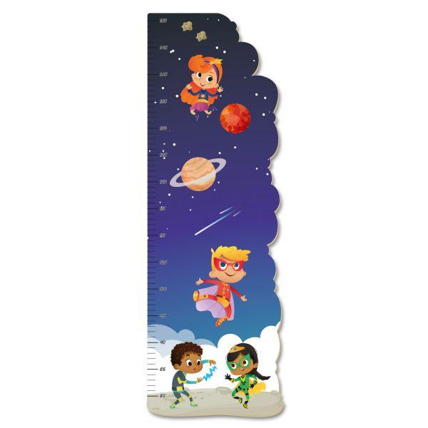 Superhero Kids Messlatte fürs Kinderzimmer aus MDF