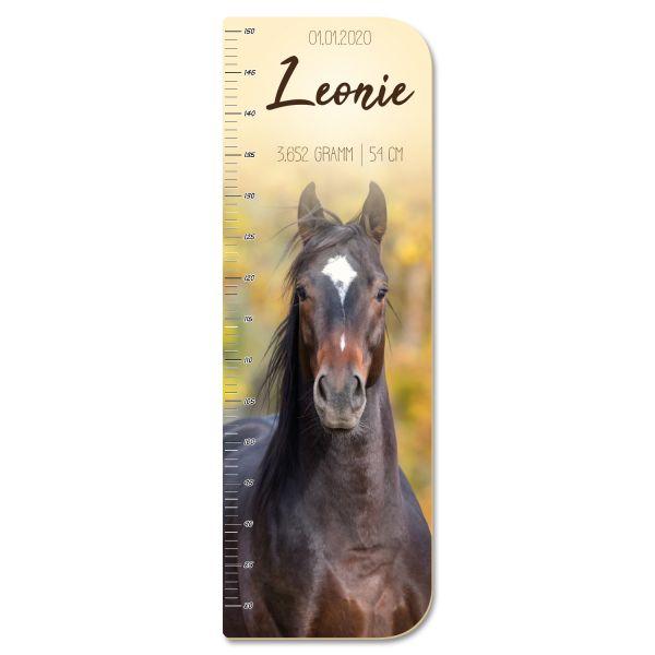 Pferd Messlatte fürs Kinderzimmer aus MDF